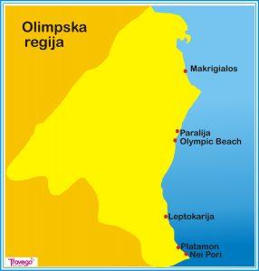 olimpska regija mapa Olimpska regija | Travego olimpska regija mapa